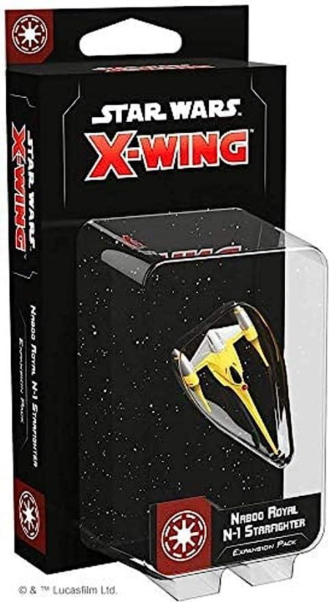 Fantasy Flight Games Star Wars X-Wing: Naboo Royal N-1 Starfighter Expansion Pack - English: Amazon.es: Juguetes y juegos