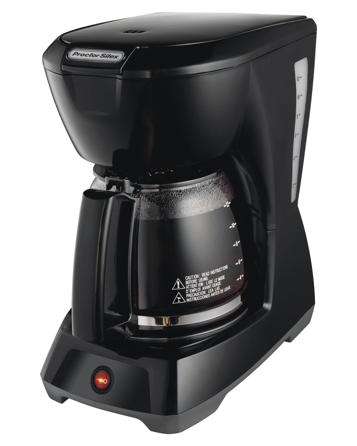Black amp decker 12 cup coffee maker free shipping on orders over 45 - Amazon Com Proctor Silex 12 Cup Coffee Maker 43602 Drip Coffeemakers Kitchen Dining