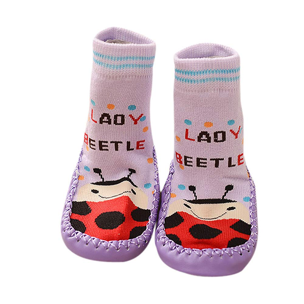 Huhu833 Baby Socken Cartoon Kinder Kleinkind Baby Anti-Rutsch-Socke Schuhe Stiefel Slipper Socken Boden Socken