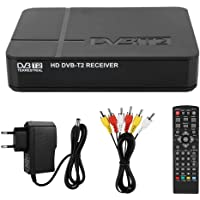 Neufday Decodificador DVB-T/T2, DVB Android TV Box Control