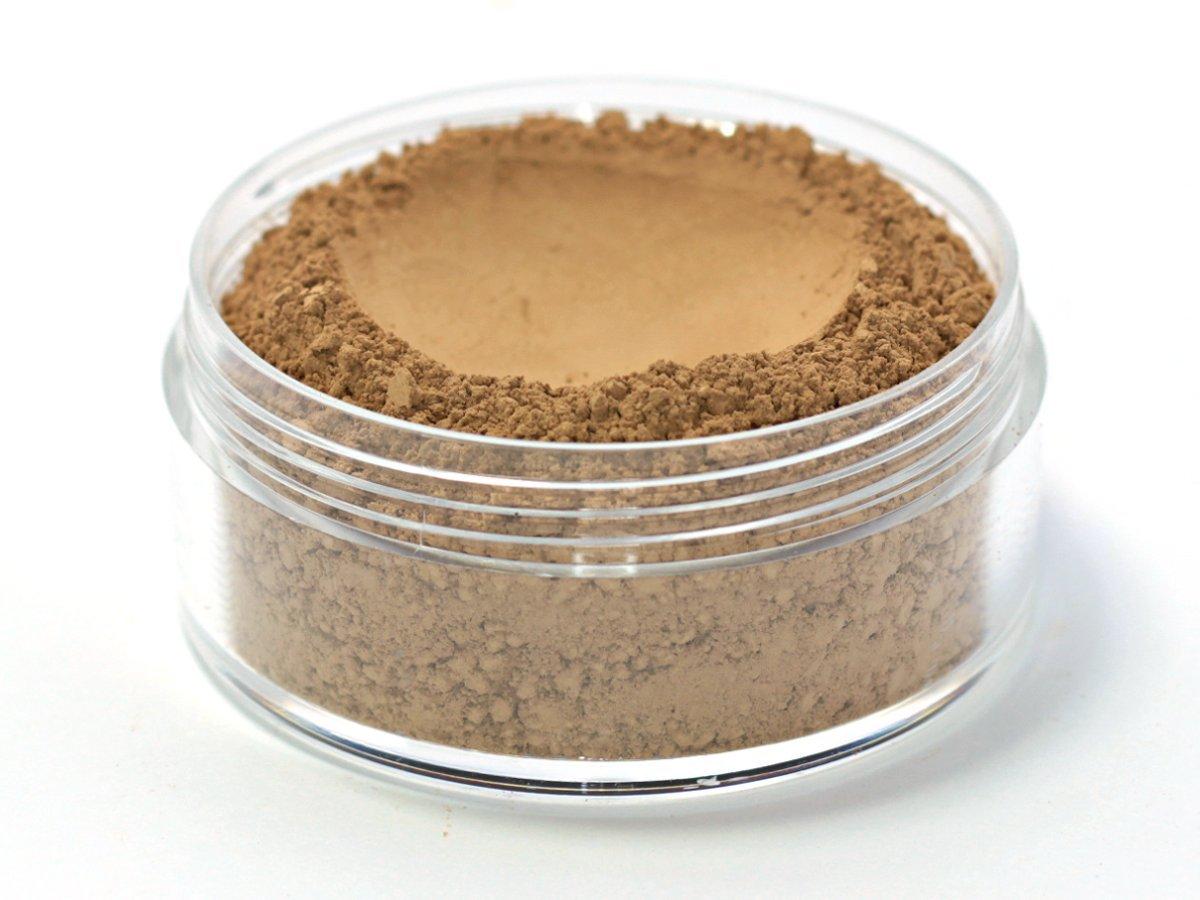 Vegan Mineral Wonder Powder Foundation - Shade ''Hazelnut'' medium/dark with yellow undertone