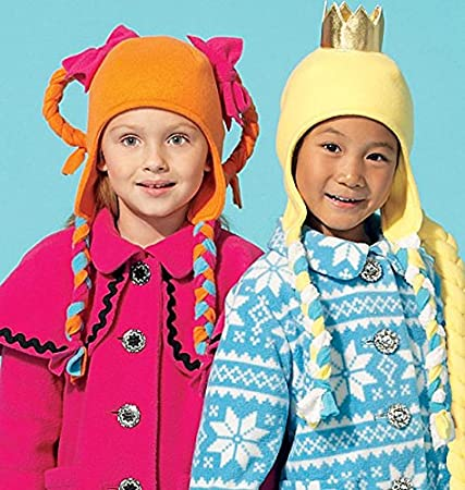 Amazon.com: McCalls Patterns M7276 Childrens/Girls Coats, Hat, Scarf and Mittens, Size CL (6-7-8): Arts, Crafts & Sewing
