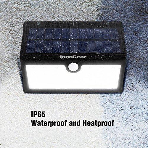 InnoGear Solar Lights Outdoor, 30 LED Motion Sensor
