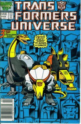 Transformers Universe #3 (Marvel Comic Book 1987) ()
