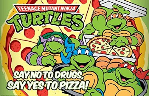 Teenage Mutant Ninja Turtles, Pizza Poster 24in x 36in