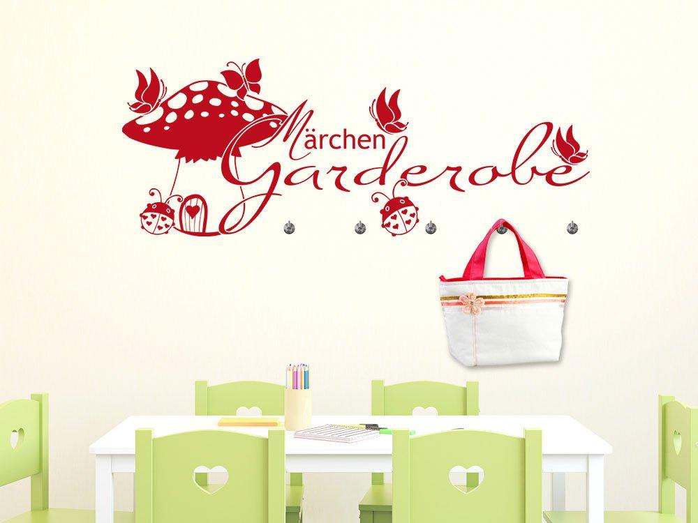 Graz Design Adhesivo de pared con 5 ganchos para habitación ...