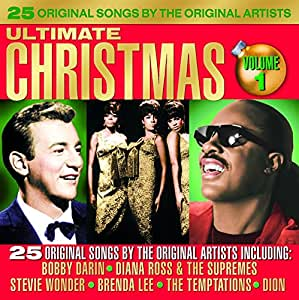 Various Artists Ultimate Christmas Album Vol 1 Amazon