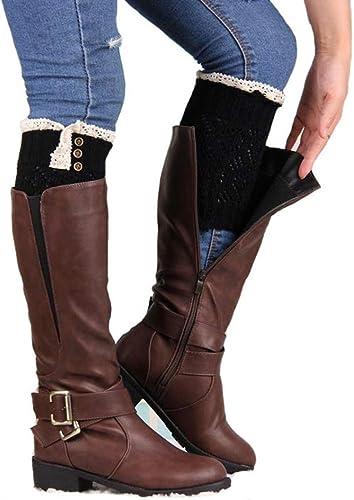 Cover Amlaiworld Chaussettes Boots Femmede Botte iuOPkXTZ