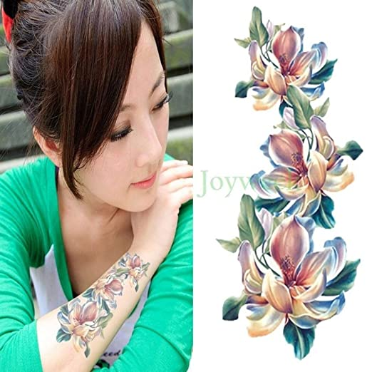 Handaxian 3 Piezas Impermeable Tatuaje Apliques Brazo Tatuaje ...