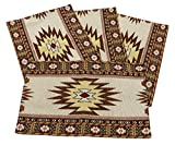 Yuma Jacquard Design Place Mats Set of 4 13x19 inches