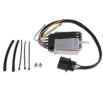 KESOTO Módulo de Control de Fan Eléctrico Radiador de Coche, Tipo Profesional para Audi A4