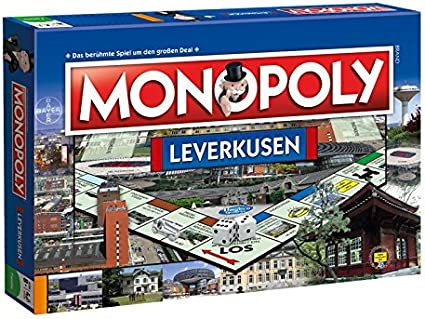 Winning Moves 44536 – Monopoly Leverkusen Parte: Amazon.es: Juguetes y juegos