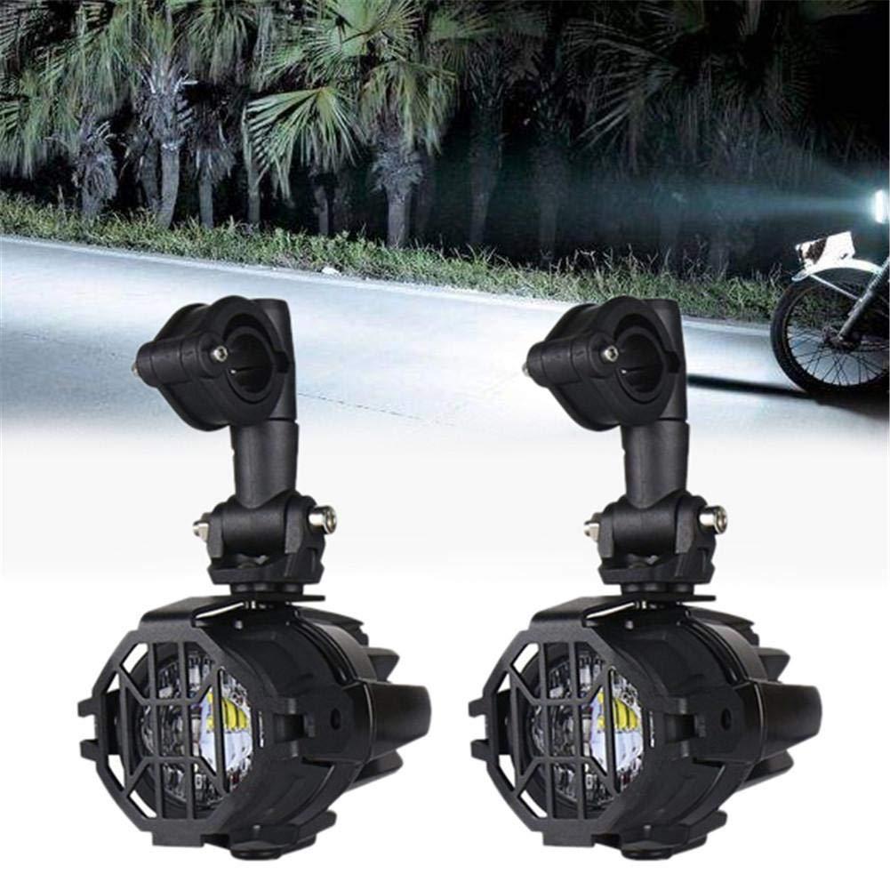 ckground para BMW R1200GS F800GS Moto Faros antiniebla LED Juego de Luces auxiliares con Accesorios de Montaje