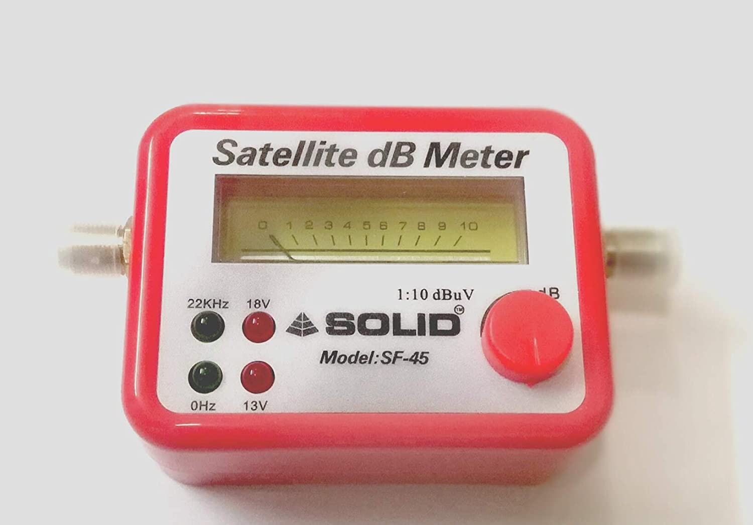 Solid Satellite Signal Finder Db Meter for All Dish TV Network