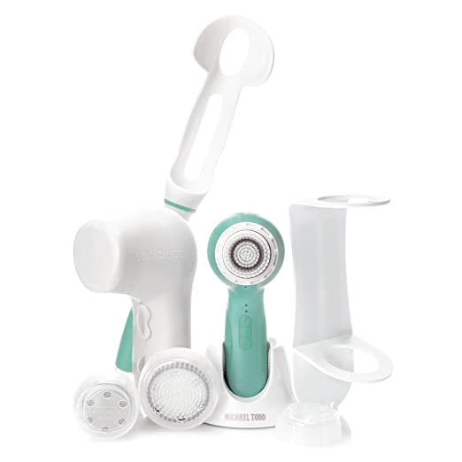 Soniclear Elite DELUXE Antimicrobial Facial Skin Cleansing Brush System