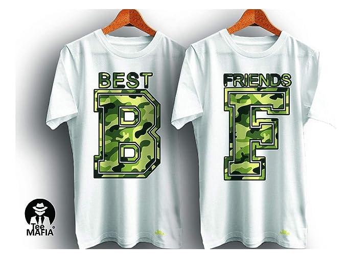 c41c66f7 Tee Mafia Unisex Designer Best Friend Combo T-Shirts |Friendship Goal T- Shirts