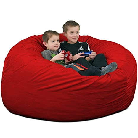 Amazon.com: Ultimate saco 4000 puf silla: gigante espuma ...