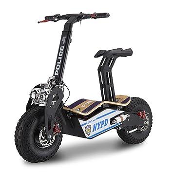 E-Road Mad 500 EEC patinete eléctrico Unisex, policía ...