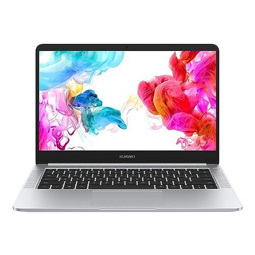 Huawei Matebook D Ordenador portátil ultrafino 14 FullHD AMD Ryzen R5 2500 8GB RAM 256GB SSD AMD Vega 8 Windows 10 Plata Teclado QWERTY Español