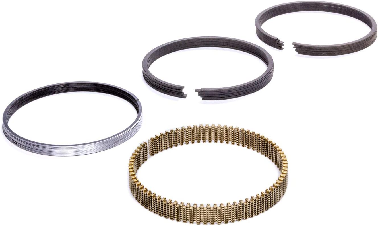 8 Cylinder 3.927 in Bore Kit 1.2 x 1.2 x 3.0 mm Thick Piston Rings Standard Tension Stainless Steel