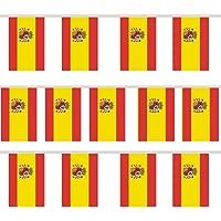 trixes 12 Piezas Empavesado Guirnalda Rectangular Bandera