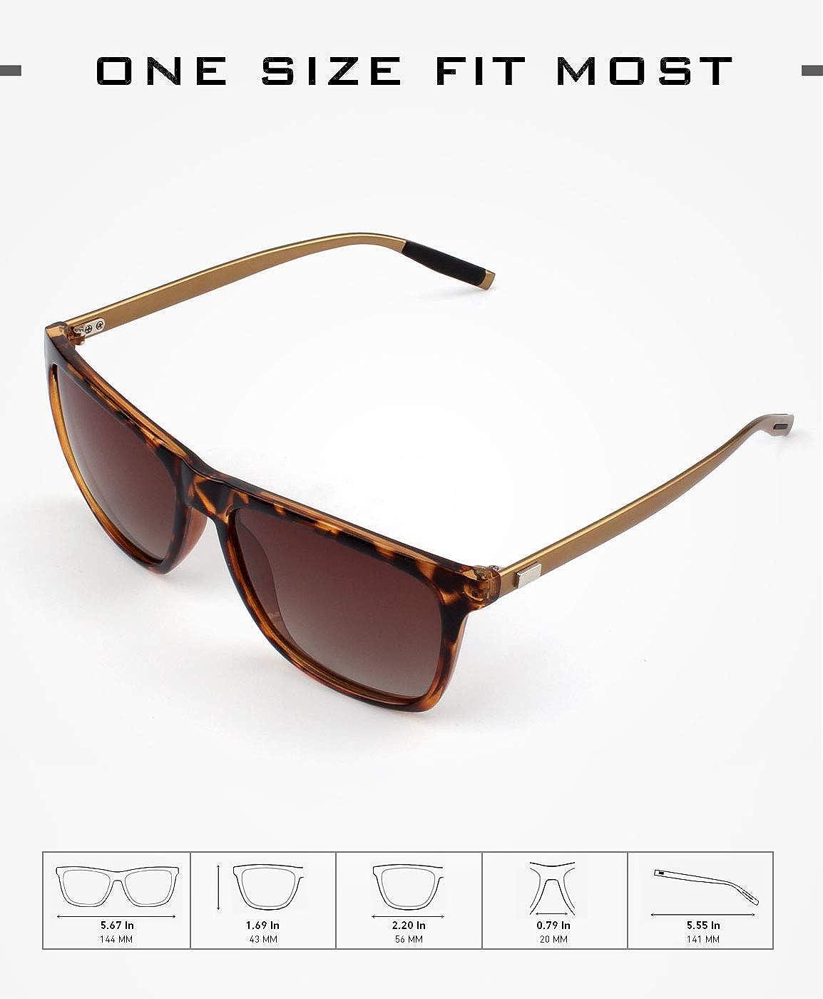 GQUEEN Occhiali da Sole Stile con Lenti Polarizzate GQ33