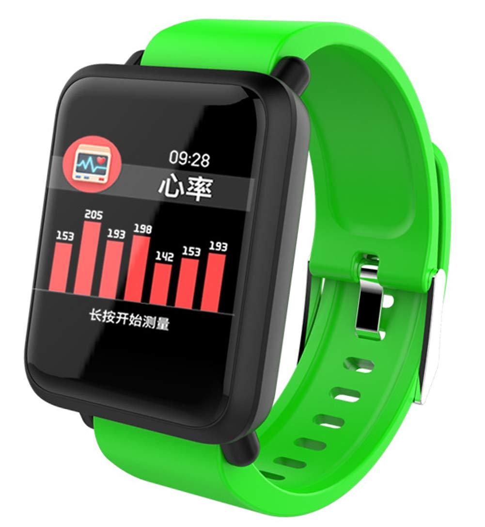 Ip67 Waterproof Pedometer Sleep Monitor Smart Watch, Activity Tracker Pedometer 14 Motion Tracking Female Men's Fitness Watch-E by YANGYA