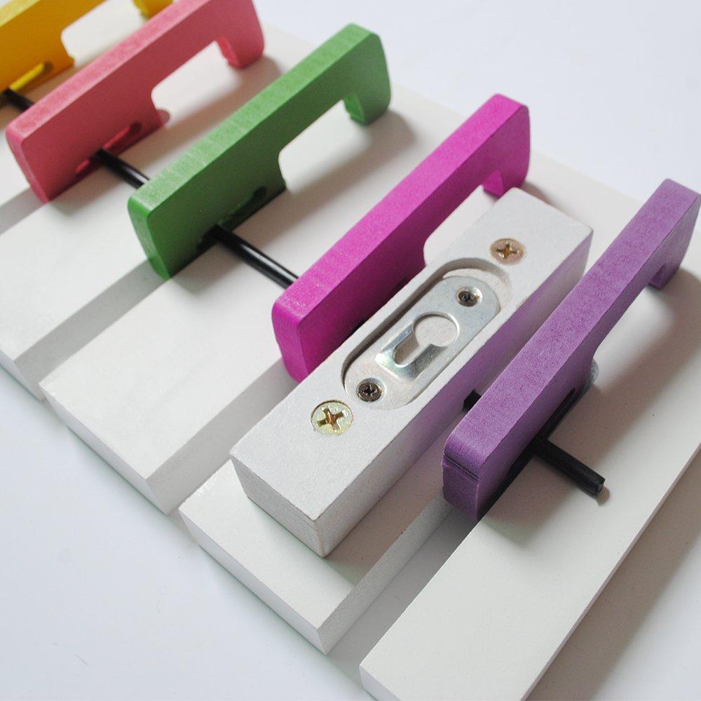 yazi appendiabiti da parete tastiera di pianoforte design bag rack Hanger