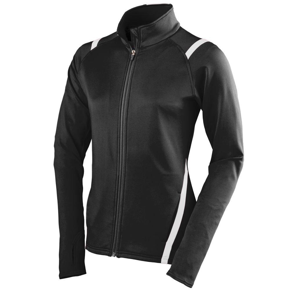 Augusta Sportswear Women's Freedom Jacket, Black/White, Small