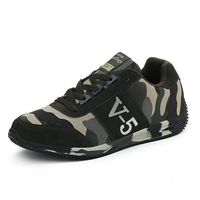 Suetar Baskets en Plein air antidérapant Respirant pour Homme Chaussures de Randonnée Légères Mode et Confortables 4Pzxd6x3