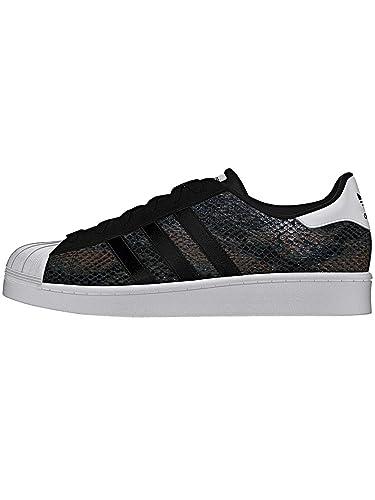 adidas Superstar W B35797 Adulte (Homme Ou Femme) Chaussures de Sport, Noir 40.5