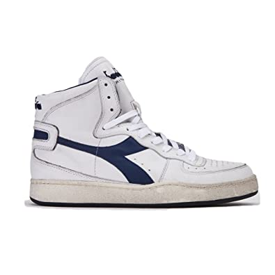 Diadora Heritage Herren High Sneaker Mi Basket Used 158569, Größe 43 Farbe  b4f8b0c0be