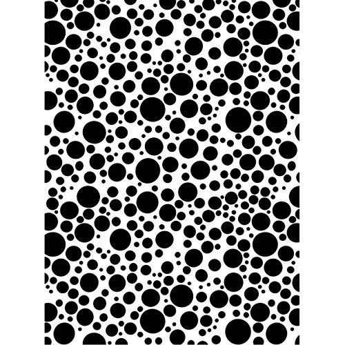9 X 12 Stencil (Joggles Stencil 9x12-Bubble Blast)