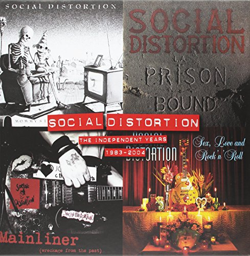 Vinilo : Social Distortion - Independent Years: 1983-2004 (Boxed Set, 4 Disc)