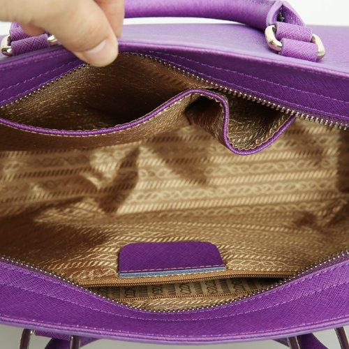 Dissa Bag Cross Leather Women body Dissa Shoulder Q0457 Q0457 Purple Fqxwn18C4