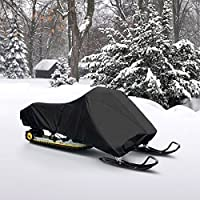 "Neh® Waterproof Trailerable Snowmobile Cover Covers Arctic Cat Polaris Ski Doo Yamaha Fits Length 126""-138"""