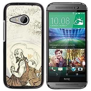 // PHONE CASE GIFT // Duro Estuche protector PC Cáscara Plástico Carcasa Funda Hard Protective Case for HTC ONE MINI 2 / M8 MINI / Aire Benders /