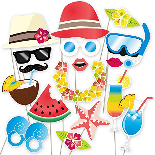 Hawaiian-Photo-Booth-Props-Luau-Party-Supplies-for-the-Summer-Pool-Party