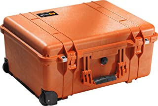 product image for Pelican 1560 Case With Padded Dividers (Orange)