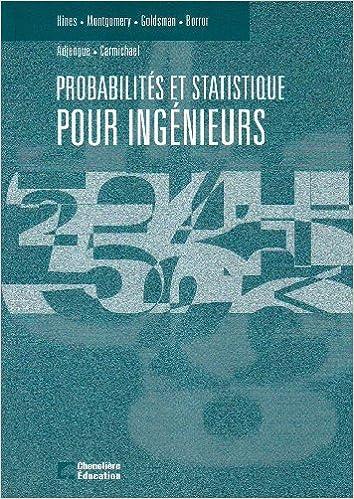 Probabilités et statistique pour ingénieurs - manuel epub pdf