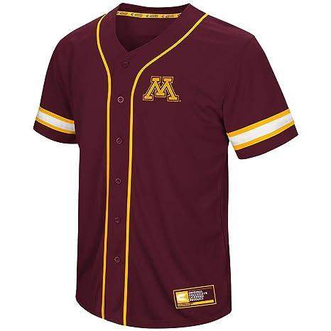 pretty nice 723b3 1819f Amazon.com: Colosseum Mens Minnesota Golden Gophers Baseball ...