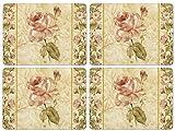 Pimpernel Antique Rose Linen - Set of 4 (Large)