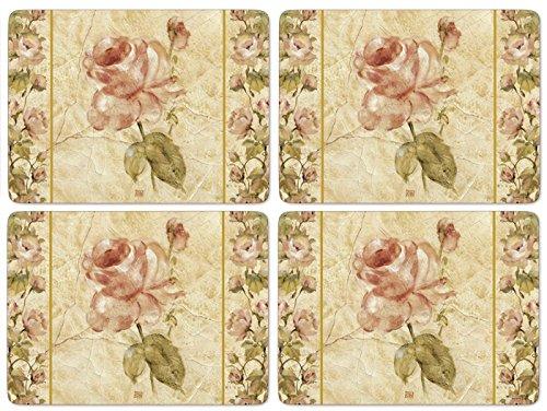 Pimpernel Antique Rose Linen - Set of 4 (Large) by Pimpernel