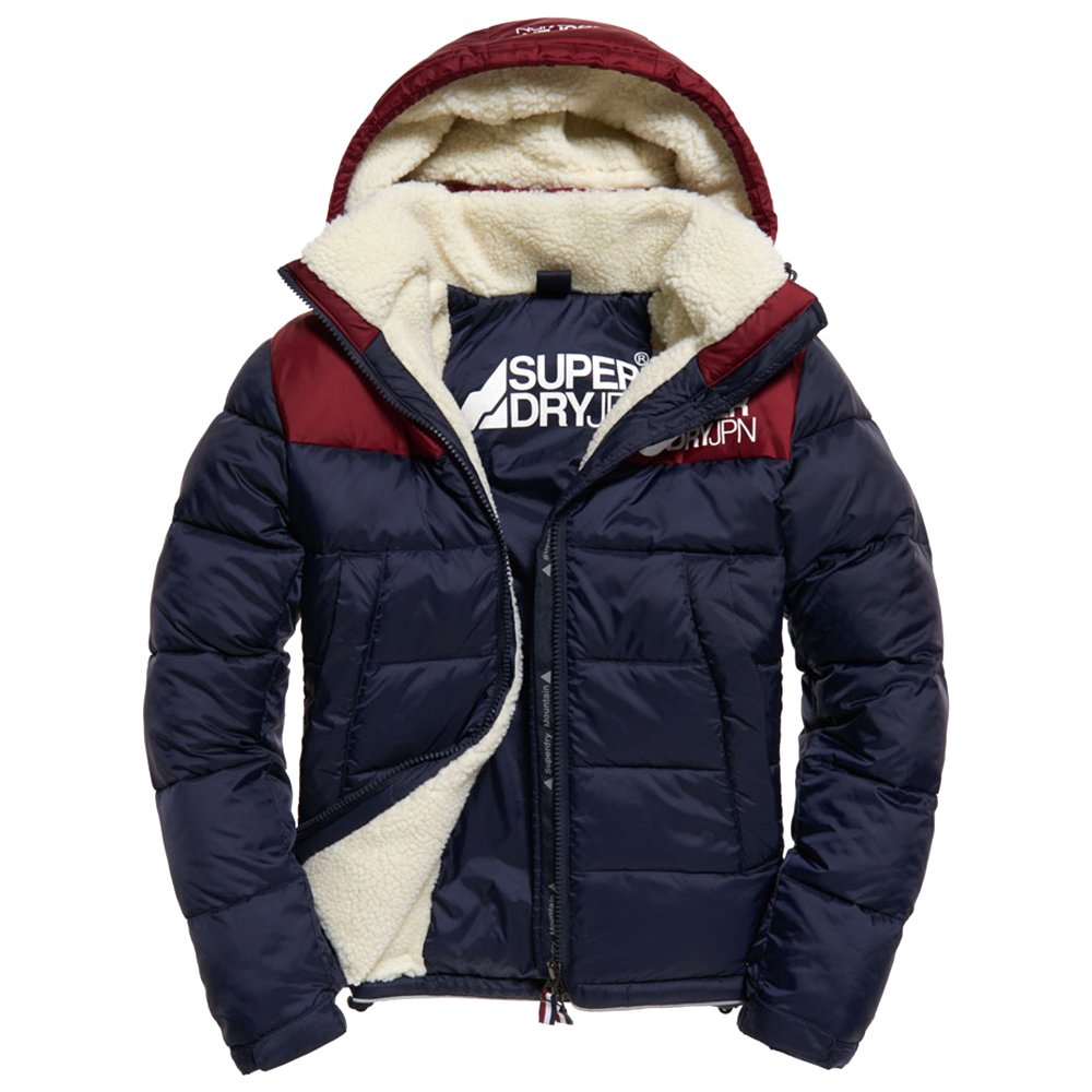 Mark Homme Manteau Pour Sherpa Superdry Mountain Vestes
