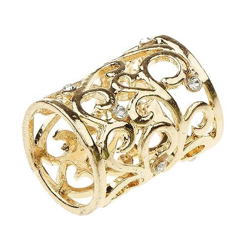 Frauen Schal Schnalle Ring Clip Halter Kristall Blume Seidenschals Schmuck Top