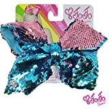 Girls just wanna have big bows fun ! Inspired by the dancing star JoJo Siwa's iconic Big Bow style, the JoJo Siwa Hair Bow will make a vivid, bright and fun addition to any girl's accessories collection. The bow is attached to a metal salon c...