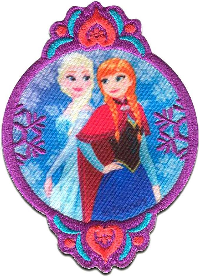 La sirenita Disney cómico niños termoadhesivos Parches 7,4x9cm colorido