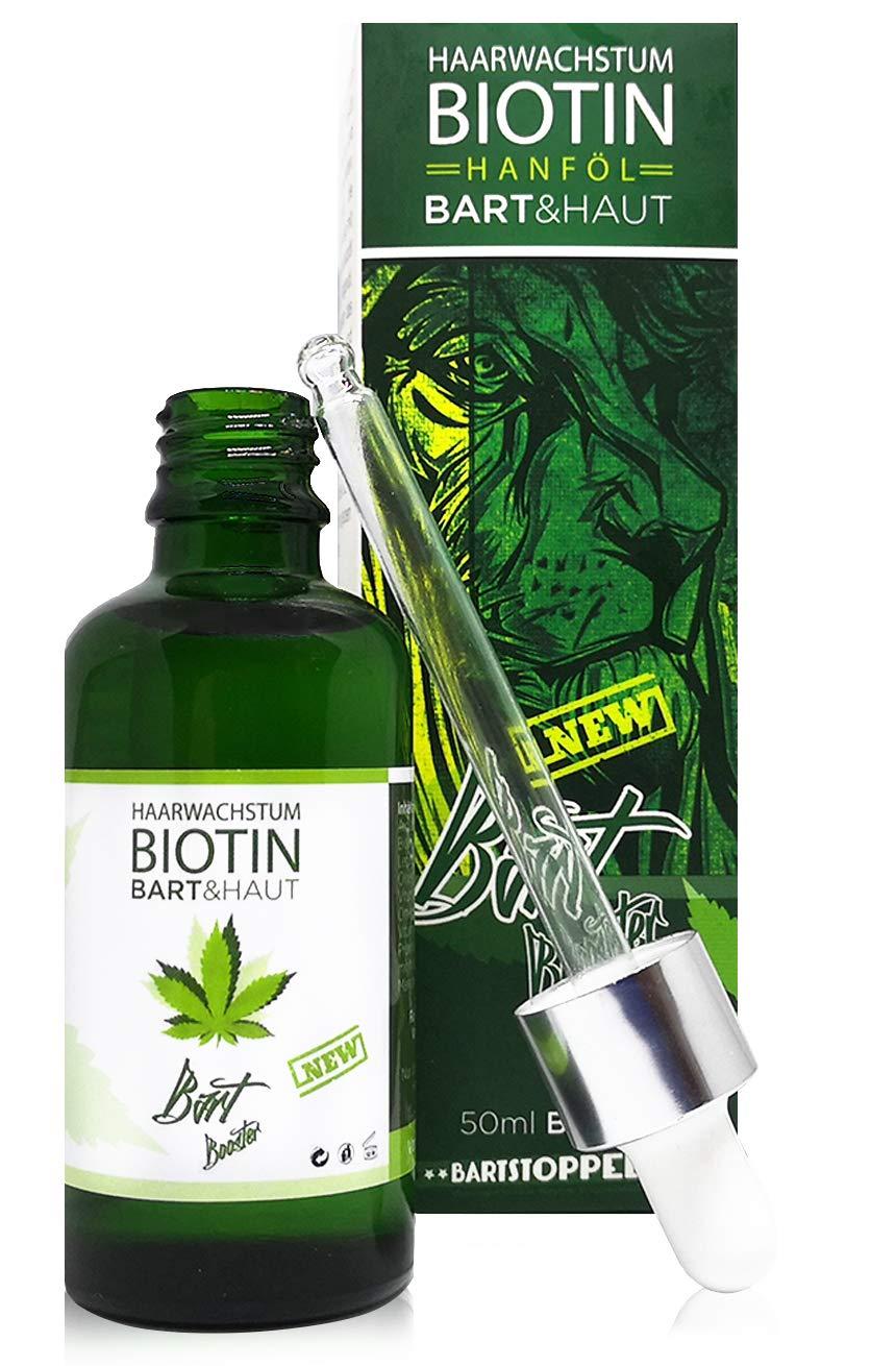 Bartstoppels© Parfum Bartöl Biotin Arganöl Jojobaöl Hanföl Bartwuchsmittel Made in Germany Tierversuchsfrei