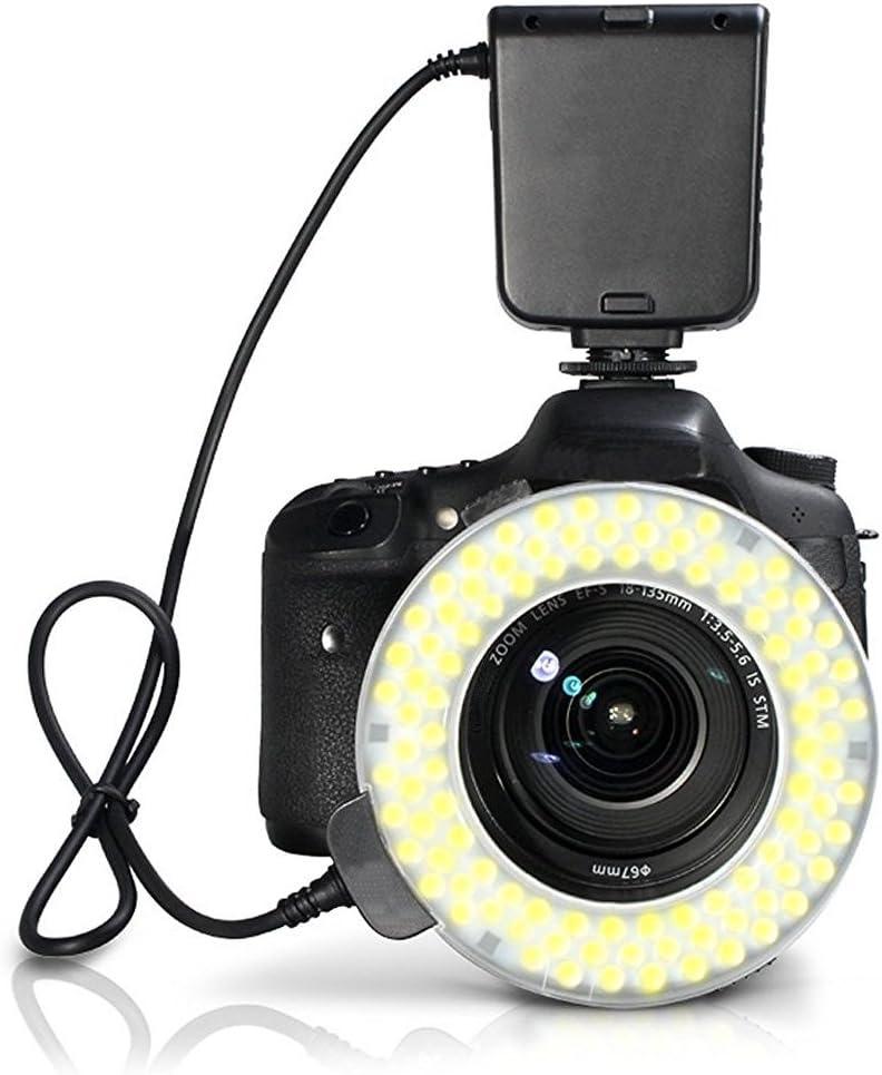 Nikon D700 Dual Macro LED Ring Light//Flash Applicable for All Nikon Lenses