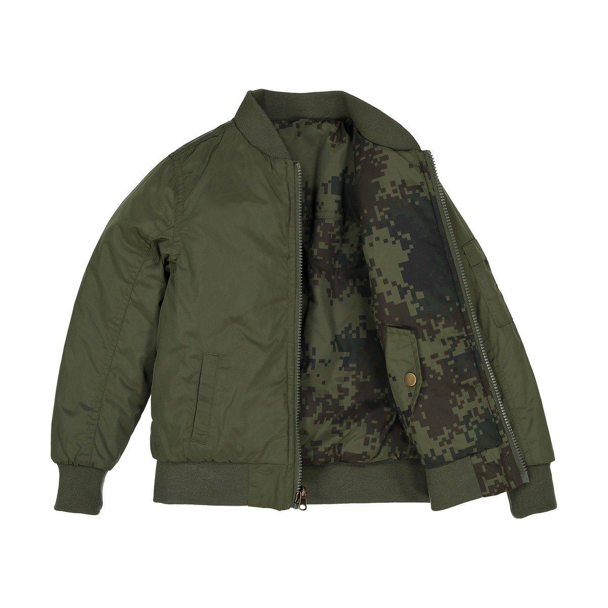 3-12 Years La Redoute Collections Big Boys Reversible Jacket